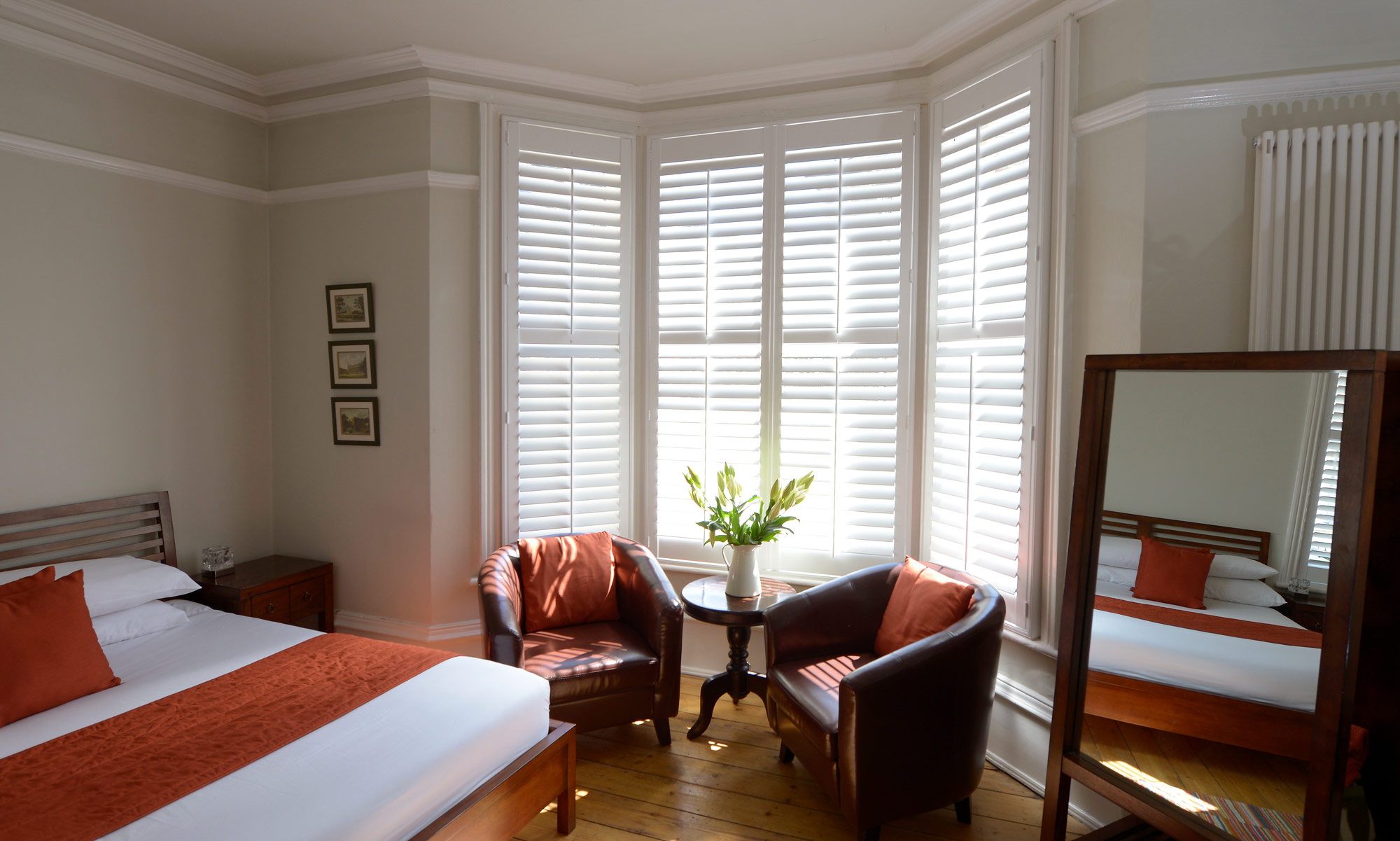 Victorian guest house sash renovation interior